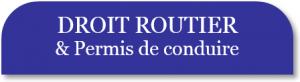 Droit Routier & Permis de Conduire